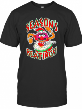 The Muppets Drummer Season'S Beatings T-Shirt