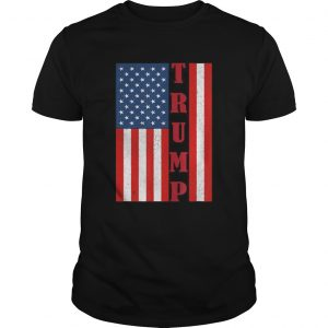 Trump Vintage Retro Distressed USA Flag American Trump flags  Unisex