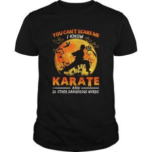 You Cant Scare Me I Know Karate And 20 Other Dangerous Words  Unisex
