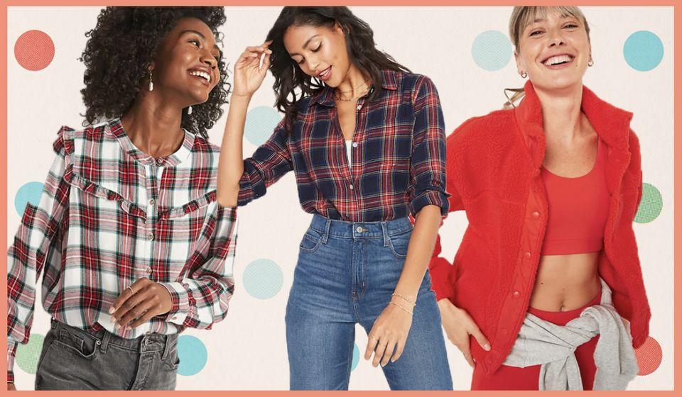 Ends soon! Everything—and we mean everything—is 50 percent off at Old Navy!