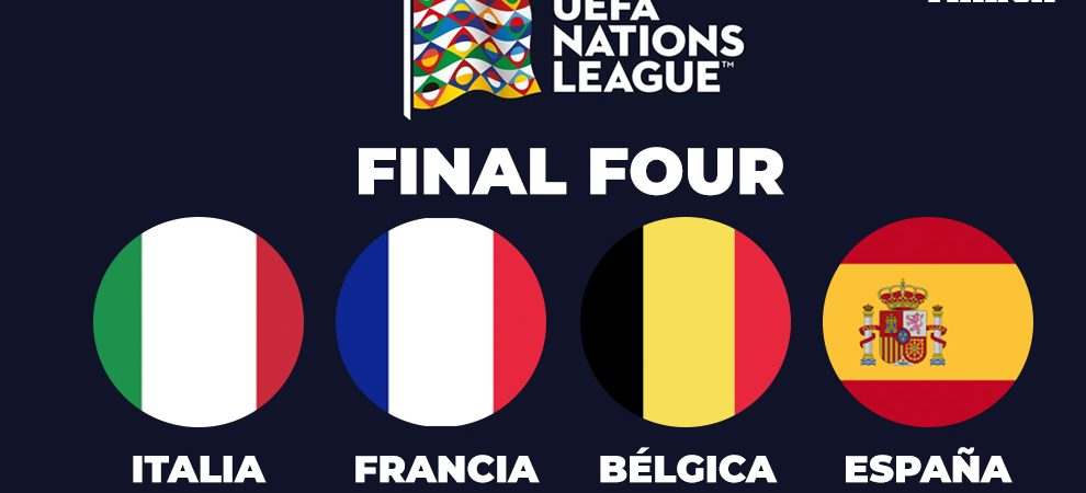 France, Spain, Italy and Belgium will play the 'Final Four of the UEFA Nations League