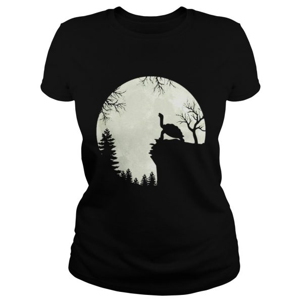 Howling turtle the moon  Classic Ladies