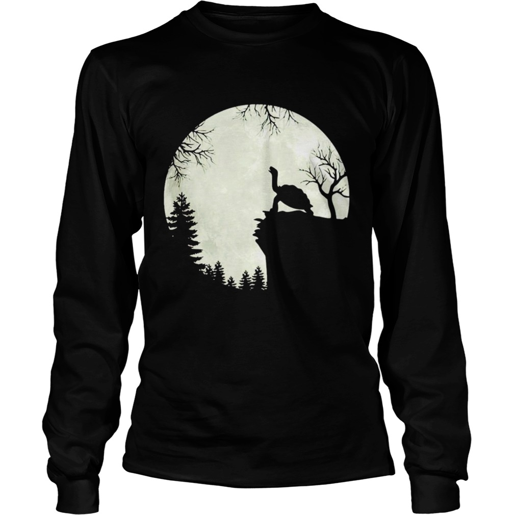 Howling turtle the moon Long Sleeve