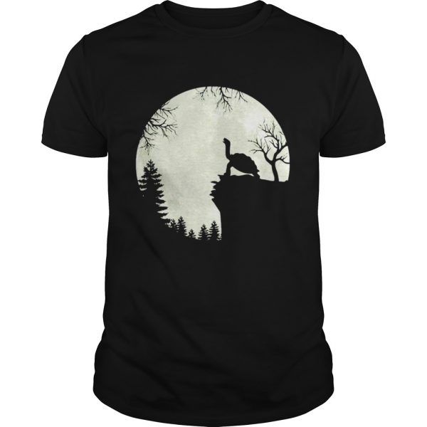 Howling turtle the moon  Unisex