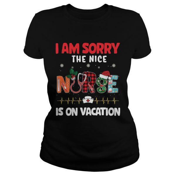 I am sorry the nice nurse is on vacation Christmas 2020  Classic Ladies