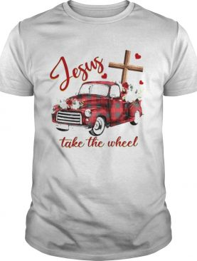 Jesus take the wheel car shirt