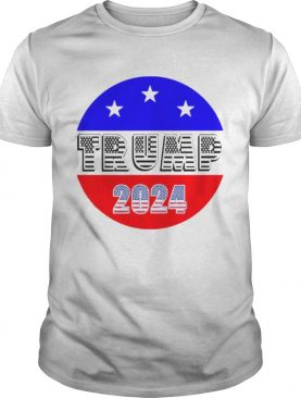 President Trump 2024 Election American Flag shirt