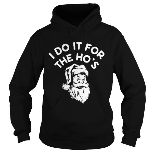 Santa Claus I Do It For The Hos  Hoodie