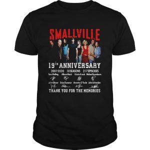 Smallville 19th Anniversary 2001 2020 Thank You For The Memories Signature  Unisex