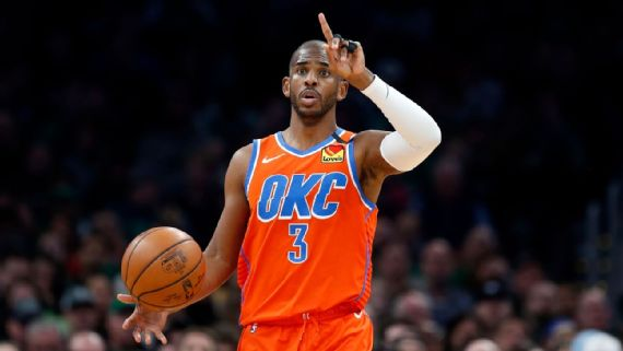 Sources: Phoenix Suns agree in principle to acquire Chris Paul from Oklahoma City Thunder