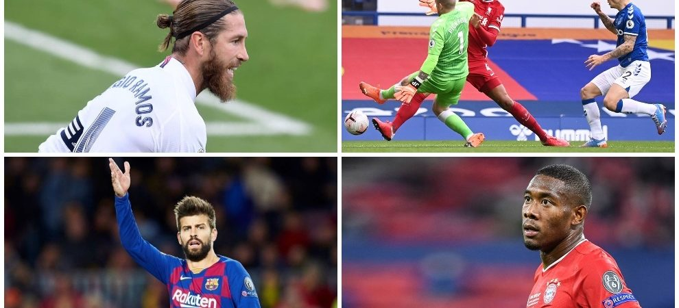 The greats of Europe look back: the future of Ramos or Alaba, the companion of Piqué, the injuries at Liverpool …