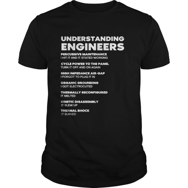 Understanding Engineers Percussive Maintenance I Hit It And It Started Working  Unisex