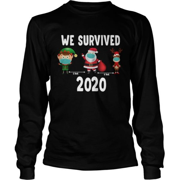We Survived 2020 Christmas  Long Sleeve