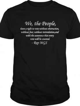 We The People Quote shirt