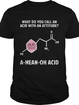 What Do You Call An Acid With Attitude A Mean Oh Acid shirt