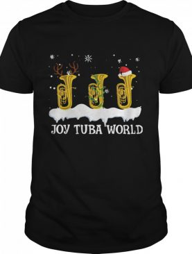 Joy Tuba World Christmas shirt