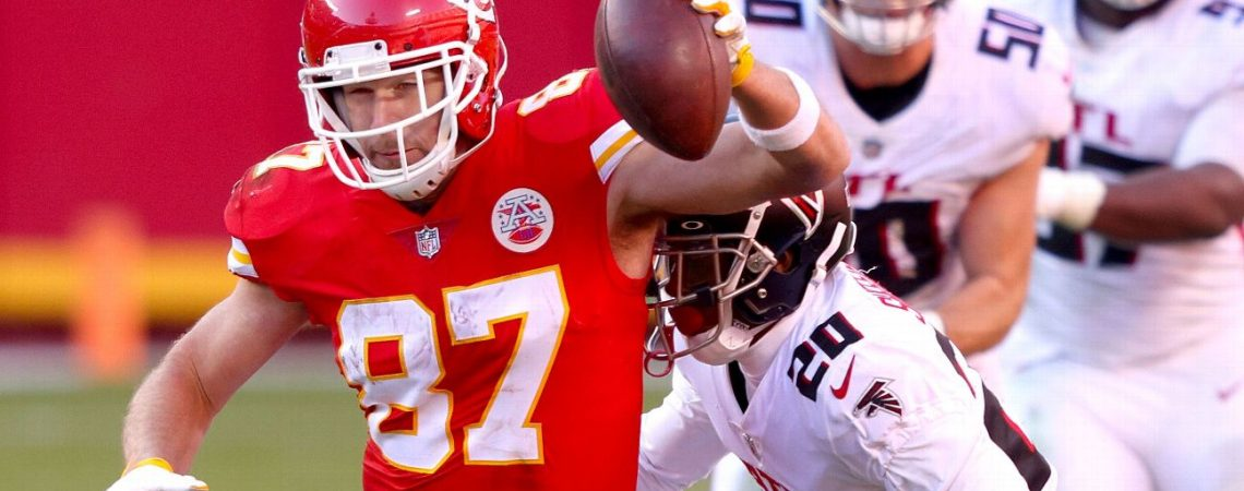 Kansas City Chiefs clinch No. 1 seed in AFC as Travis Kelce sets records