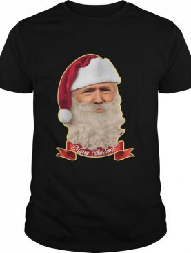 Merry Christmas Santa Trump Claus Make Christmas Great Again shirt