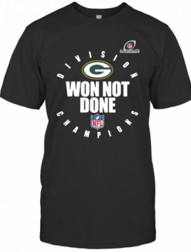 Nfl Playoffs 2020 Won Not Done Division Champions Green Packers T-Shirt