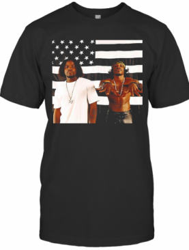 Outkasts Stankonia American Flag T-Shirt