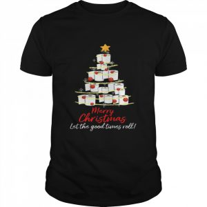 Perfect Toilet Paper Tree Merry Christmas Let The Good Times Roll  Classic Men's T-shirt