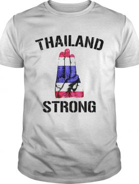 Thailand Strong Democracy Now Free Thai Support Flag shirt