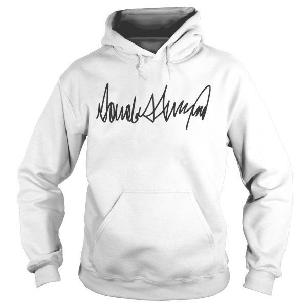 Trump Signature President Election  Hoodie