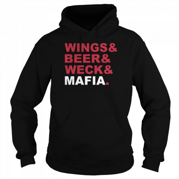 Wings And Beer And Weck And Mafia  Unisex Hoodie