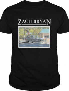 Zach bryan merch bronco shirt