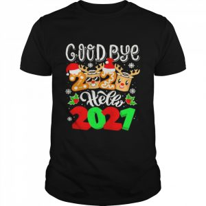 goodbye 2020 hello 2021 merry christmas and new year  Classic Men's T-shirt