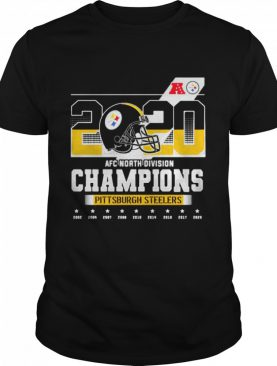 2020 Afc North Division Champions Pittsburgh Steelers shirt