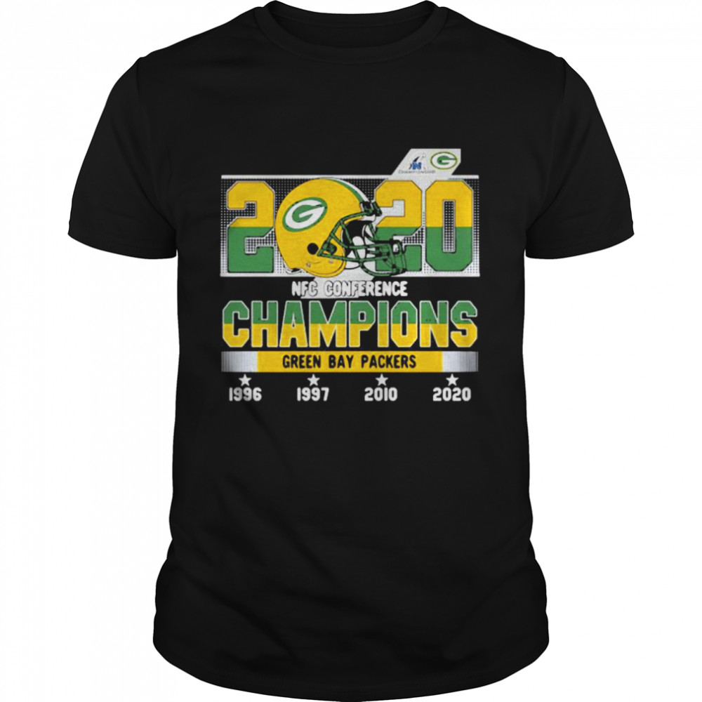 2020 Nfc Conference Champions Green Bay Packers Football Classic Men's T-shirt