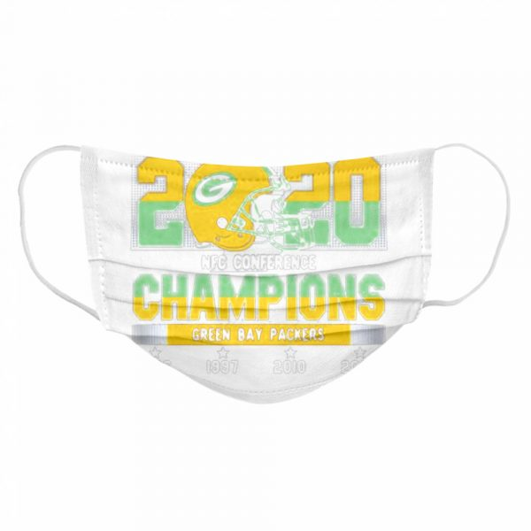 2020 Nfc Conference Champions Green Bay Packers Football  Cloth Face Mask