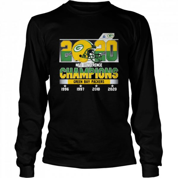 2020 Nfc Conference Champions Green Bay Packers Football  Long Sleeved T-shirt