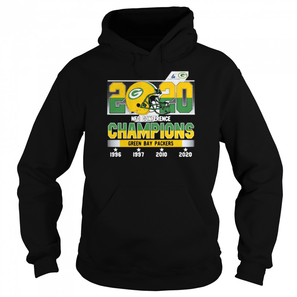 2020 Nfc Conference Champions Green Bay Packers Football Unisex Hoodie