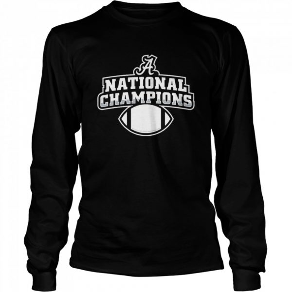 Alabama football diy national champion  Long Sleeved T-shirt