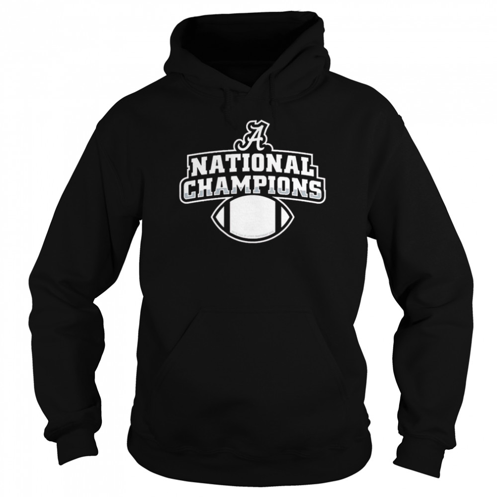 Alabama football diy national champion Unisex Hoodie