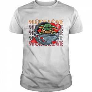Baby Yoda The Mandalorian Mode Love  Classic Men's T-shirt