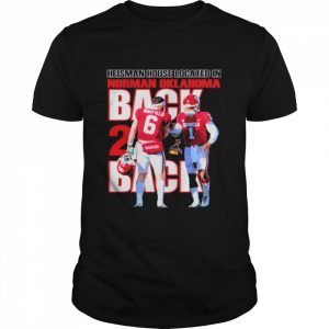 Back And Back Heisman House Located In Norman Oklahoma Mayfield Shirt Classic Men's T-shirt