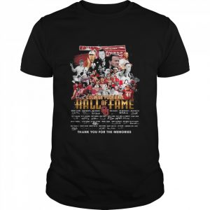 College football Hall of Fame signatures team thank you for the memories  Classic Men's T-shirt