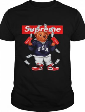 Funny Supreme Hot Bear shirt