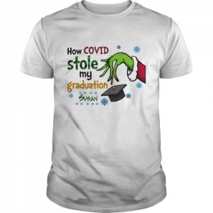 Grinch how covid stole my graduation susan  Classic Men's T-shirt