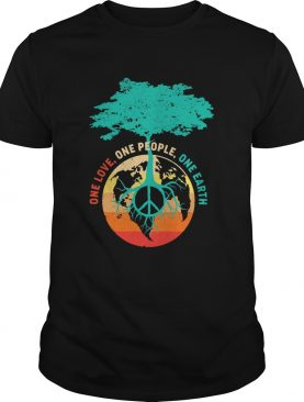 One love one people one earth shirt