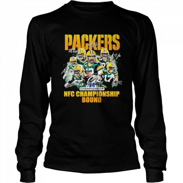 Packers nfc championship bound 2021  Long Sleeved T-shirt