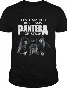 Yes I Saw Panther On Stage shirt
