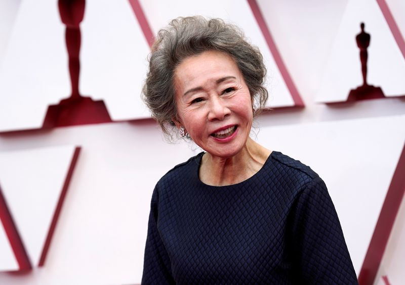 South Korea's Youn wins best supporting actress Oscar for 'Minari'