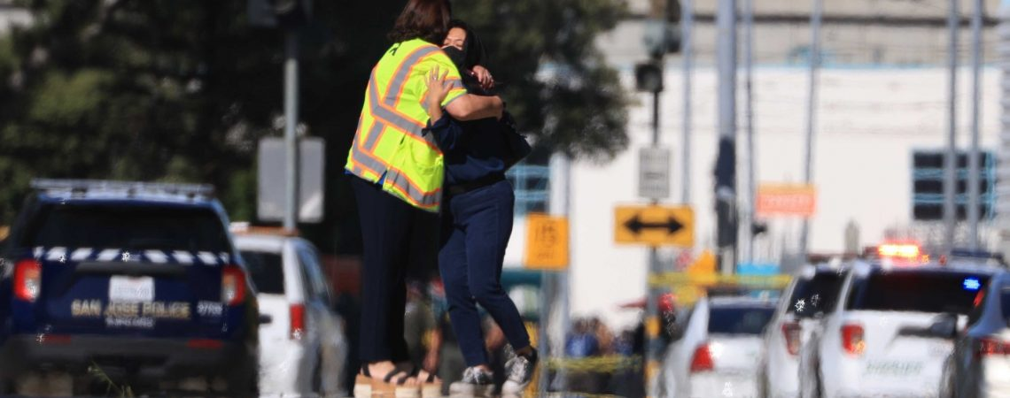 Gunman who killed eight co-workers at California transit facility knew victims well, mayor says