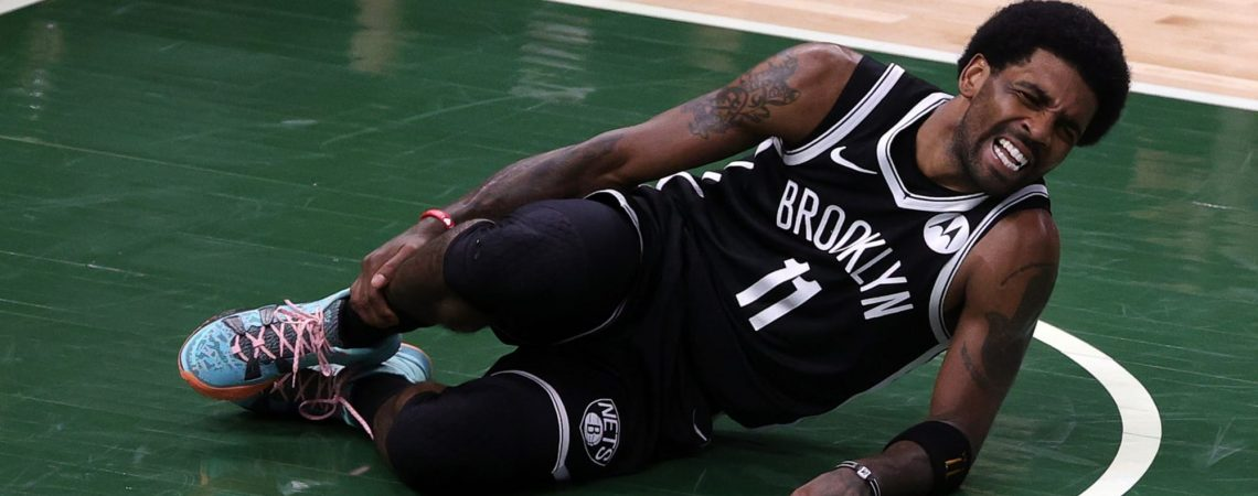 Nets: Kyrie Irving ruled out of Game 4 vs Bucks due to ankle sprain