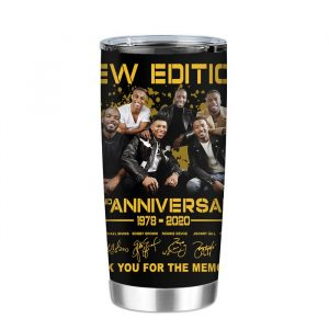 New Edition 42ND Anniversary 1978 2020 Thank You For The Memories Tumbler