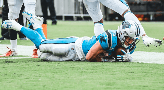 Panthers RB Christian McCaffrey strained hamstring vs. Texans; severity unknown